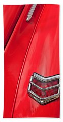 1940 Ford Deluxe Coupe Taillight Bath Towel