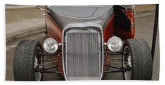 1940 Ford Hot Rod Coupe Hand Towel