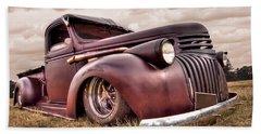 1941 Rusty Chevrolet Hand Towel