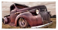 1941 Rusty Chevrolet Bath Towel