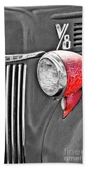 1944 Ford Pickup - Headlight - Sc Bath Towel