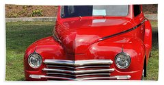 1948 Plymouth Coupe Hand Towel