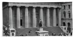 1950s 1958 Wall Street Federal Hall Bath Towel