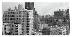 1950s View Washington Square North Hand Towel