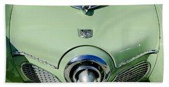 1951 Studebaker Commander Hood Ornament 2 Bath Towel