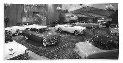 1953 Auto Show Bath Towel