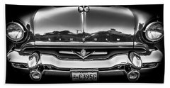 Hand Towel featuring the photograph 1953 Lincoln - Capri by Steven Milner