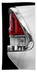 1955 Chevy Rear Light Detail Bath Towel