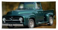 1955 Ford Truck Hand Towel