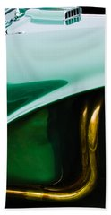 1956 Aston Martin Db3s Fixed Head Coupe Hand Towel