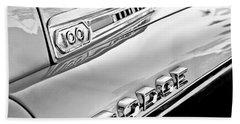 1957 Dodge Sweptside 100 Pickup Truck Bath Towel