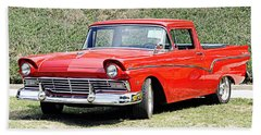 1957 Ford Ranchero Hand Towel