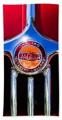 1957 Jaguar Xk140 Mc Fixed Head Coupe Grille Emblem Hand Towel