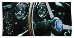 1960 Aston Martin Db4 Gt Coupe' Steering Wheel Emblem Hand Towel