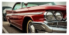 1960 Desoto Fireflite Coupe - Three Quarters Front Hand Towel