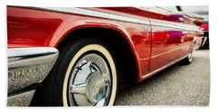 1960 Desoto Fireflite Coupe Low Side View Hand Towel