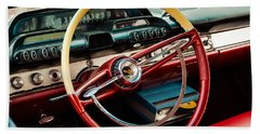 1960 Desoto Fireflite Coupe Steering Wheel And Dash Bath Towel