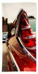 1960 Desoto Fireflite Coupe Tailfin Hand Towel