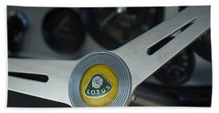 1961 Lotus Elite Series II Coupe Steering Wheel Emblem Bath Towel
