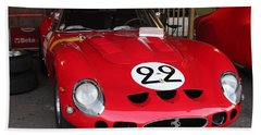 1962 Ferrari Gto Bath Towel