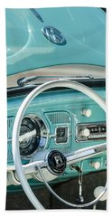 1962 Volkswagen Vw Beetle Cabriolet Steering Wheel Bath Towel