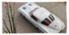 1963 Chevrolet Corvette Split Window -440c Bath Towel