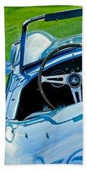 1964 Ac Shelby Cobra 289 Steering Wheel Emblem Bath Towel