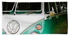 1964 Volkswagen Vw Samba 21 Window Bus Bath Towel