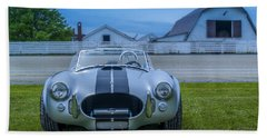 1965 Ford Shelby Cobra American Roadster Hand Towel by Ken Morris