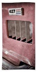 1965 Shelby 427 Sc Cobra Reproduction Emblem Bath Towel