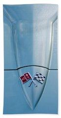 1966 Chevrolet Corvette Coupe Hood Emblem Bath Towel