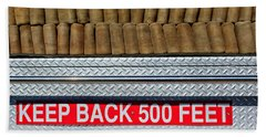 1966 Ford Young Fire Engine Bath Towel