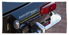 1966 Lamborghini 350 Gt Coupe Taillight Emblem Hand Towel