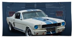 1966 Shelby Gt350 Bath Towel