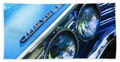 1967 Chevrolet Chevelle Malibu Head Light Emblem Hand Towel
