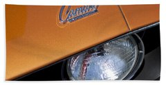1969 Chevrolet Camaro Headlight Emblem Hand Towel