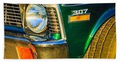 1970 Chevrolet Nova Headlight Emblem Hand Towel