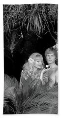 1970s Blond Couple Posed As Adam & Eve Bath Towel