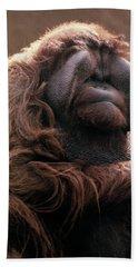 1970s Mature Adult Orangutan Pongo Hand Towel