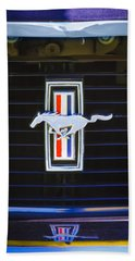 1972 Ford Mustang Boss 302 Grille Emblem Hand Towel