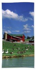 1990s Amish Family Farm Bunker Hill Hand Towel