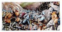 Battle Of Glenmalure  1580  Wicklow Bath Towel