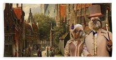 Brussels Griffon - Belgium Griffon Art Canvas Print  Hand Towel by Sandra Sij