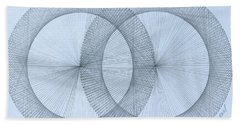 Magnetism Hand Towel by Jason Padgett