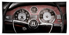 1966 Volkswagen Vw Karmann Ghia Steering Wheel Bath Towel