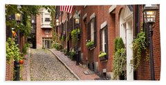 Acorn Street Boston Hand Towel