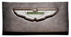 Aston Martin Emblem Hand Towel
