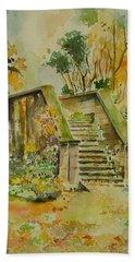 Autumn Hand Towel by Geeta Biswas