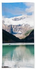 Hand Towel featuring the photograph Beautiful Lake Louise by Cheryl Baxter