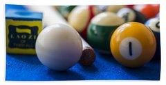 Billiard Balls Hand Towel